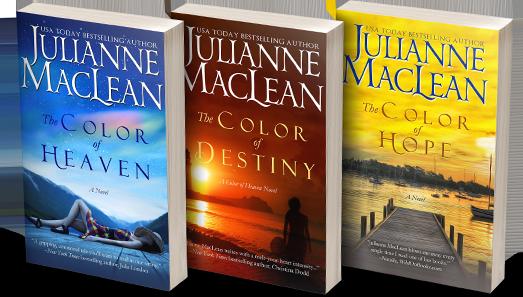 Julianne MacLean - Giveaways