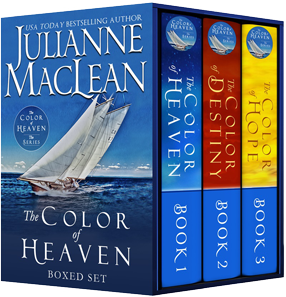 Box set of Julianne MacLean's The Color of Heaven Series.