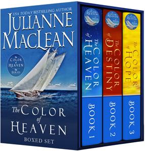 Box set of Julianne MacLean's The Color of Heaven Series.