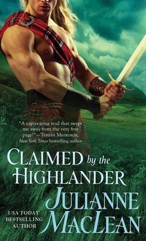 claimed by the highlander book cover