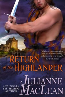 return of the highlander book cover