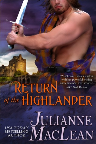 return of the highlander book cover