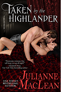 taken by the highlander book cover